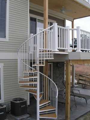 codes for stairs spiral stairs by accent ironwork inc denver co